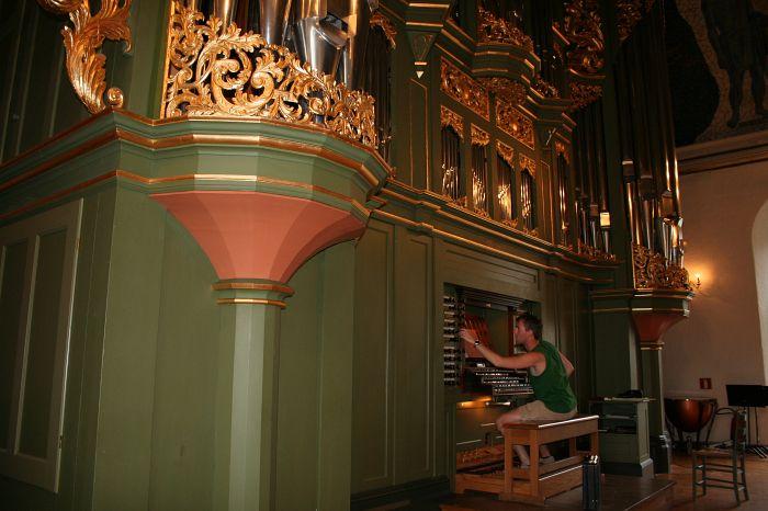 Orgel van de Domkerk te Oslo, Noorwegen